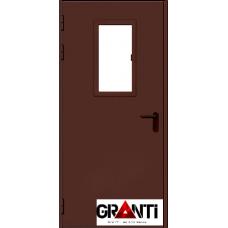 Дверь Противопожарная с стеклом №22