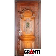 Дорогая Входная металлическая Дверь Массив дерева №13 - премиум класса