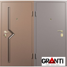 Дверь с порошковым напылением №17