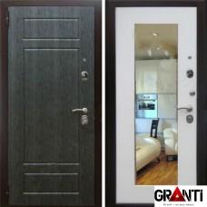 Дверь с зеркалом №611