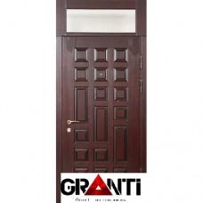 Дверь с остеклённой фрамугой №8