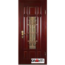 Дверь Филенчатый МДФ с ковкой №10