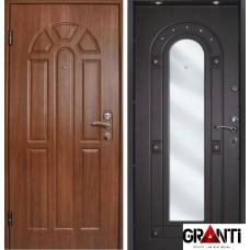 Дверь с зеркалом №607
