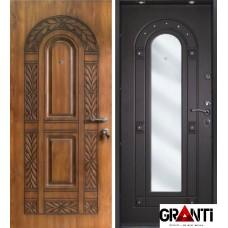 Дверь с зеркалом №34