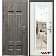 Дверь  МДФ  с зеркалом №32