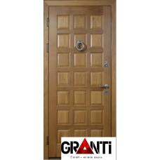 Входная металлическая Дверь Массив дерева №14