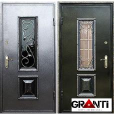 Дверь с порошковым напылением и ковкой №5