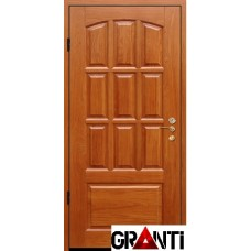 Входная металлическая Дверь Массив дерева №33