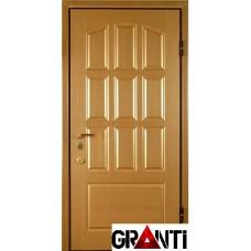 Входная металлическая Дверь Массив дерева №34