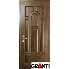 Входная металлическая Дверь Массив дерева №22 - премиум класса