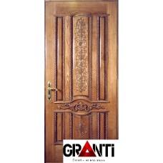 Входная металлическая Дверь Массив дерева №16 - премиум класса