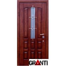 Входная металлическая Дверь Массив дерева №42