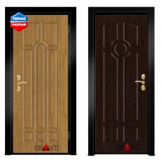 Дверь с терморазрывом №2855