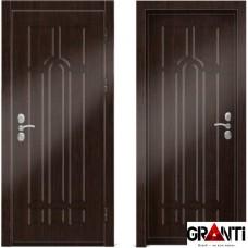 Входная металлическая дверь Венге 1 - цвет темный Венге