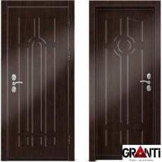 Входная металлическая дверь Венге 1.2 - цвет темный Венге