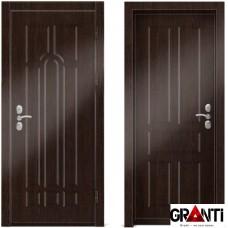 Входная металлическая дверь Венге 1.8 - цвет темный Венге