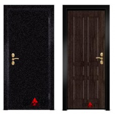 Входная металлическая Дверь МДФ - м 36.7 в коттедж