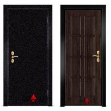 Входная металлическая Дверь МДФ - м 37 для загородного дома