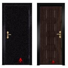 Входная металлическая Дверь МДФ - м 37.2 в коттедж