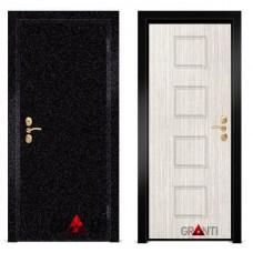 Входная металлическая Дверь МДФ - м 37.5 в коттедж