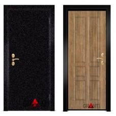 Входная металлическая Дверь МДФ - м 37.6 для загородного дома