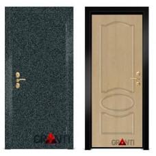 Входная металлическая Дверь МДФ - м 8 для загородного дома