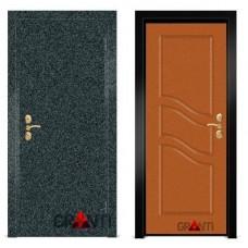 Входная металлическая Дверь МДФ - м 8.2 в коттедж