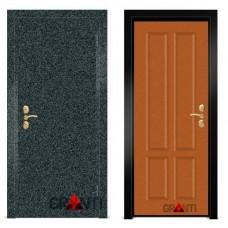 Входная металлическая Дверь МДФ - м 8.3 для загородного дома