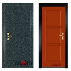 Входная металлическая Дверь МДФ - м 8.5 в коттедж