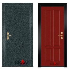 Входная металлическая Дверь МДФ - м 8.7 в коттедж