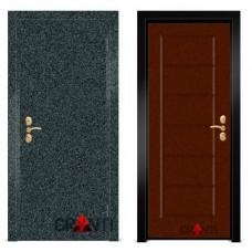 Входная металлическая Дверь МДФ - м 9.1 для загородного дома