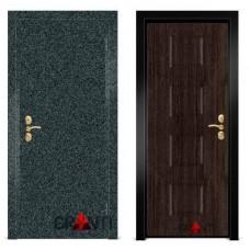Входная металлическая Дверь МДФ - м 9.3 в коттедж
