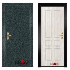 Входная металлическая Дверь МДФ - м 9.4 для загородного дома