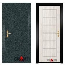 Входная металлическая Дверь МДФ - м 9.5 в квартиру