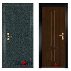 Входная металлическая Дверь МДФ - м 1.6 в коттедж