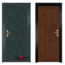 Входная металлическая Дверь МДФ - м 1.8 для коттеджа и загородного дома
