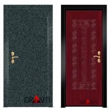 Входная металлическая Дверь МДФ - м 10.6 в коттедж