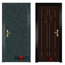Входная металлическая Дверь МДФ - м 7.6 в квартиру