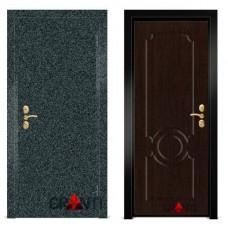 Входная металлическая Дверь МДФ - м 7.7 в коттедж