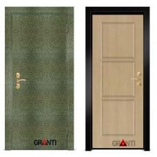 Входная металлическая Дверь МДФ - м 19.5 в коттедж