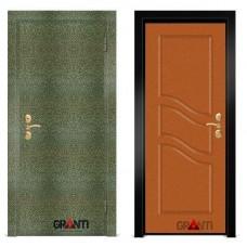 Входная металлическая Дверь МДФ - м 19.6 для загородного дома