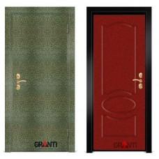 Входная металлическая Дверь МДФ - м 2.2 в коттедж
