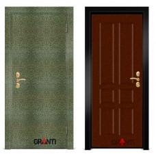 Входная металлическая Дверь МДФ - м 2.4 для загородного дома