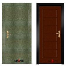 Входная металлическая Дверь МДФ - м 2.5 в коттедж