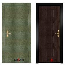 Входная металлическая Дверь МДФ - м 2.7 для загородного дома