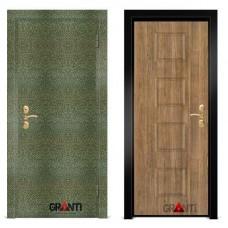 Входная металлическая Дверь МДФ - м 20.3 в коттедж