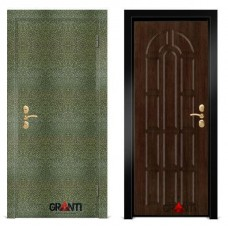 Входная металлическая Дверь МДФ - м 20.5 для загородного дома