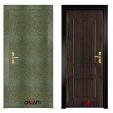 Входная металлическая Дверь МДФ - м 20.7 в коттедж
