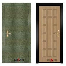 Входная металлическая Дверь МДФ - м 21 для загородного дома