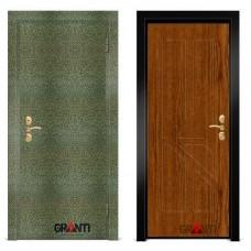 Входная металлическая Дверь МДФ - м 22 в коттедж
